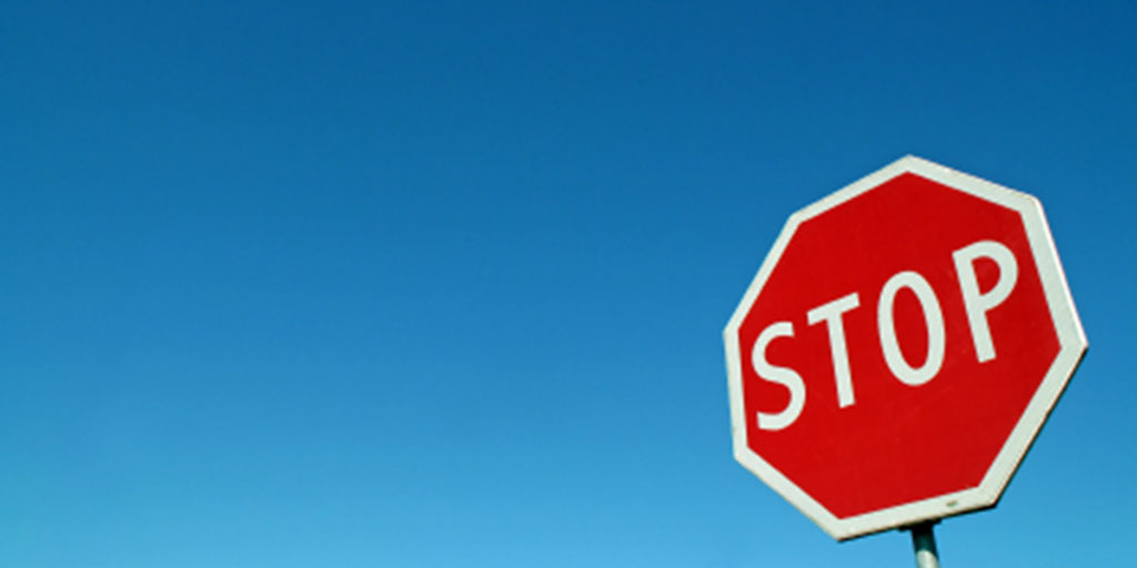 "Are you putting a ""STOP"" sign in front of your customers?"