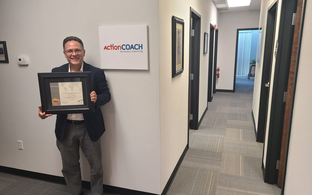 PRESS RELEASE: Thriving Business Coaching Firm Celebrates Team Member's Year of Accomplishments
